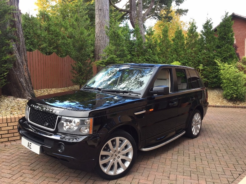 View LAND ROVER RANGE ROVER SPORT TDV8 SPORT HSE