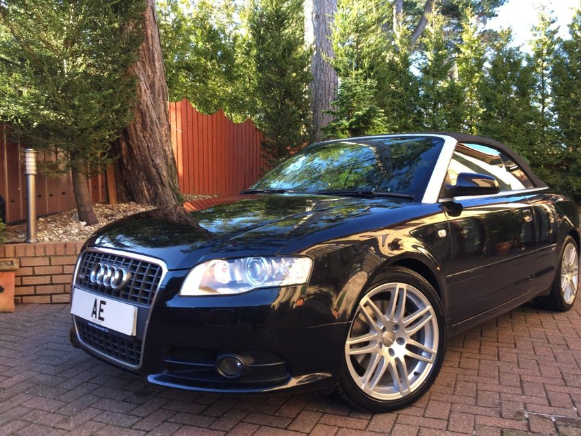 View AUDI A4 2.0 TFSi  Multitronic  S Line Special Edition Convertible