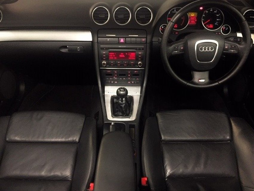View AUDI A4 2.0 TDI S LINE CONVERTIBLE