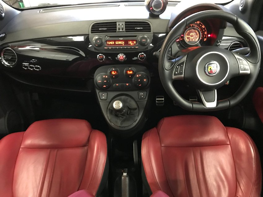 View ABARTH 500 T-Jet 135 Entry