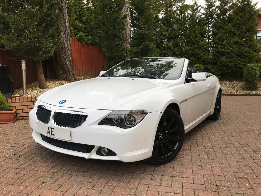 View BMW 6 SERIES 630i SMG Convertible  Auto  Sport