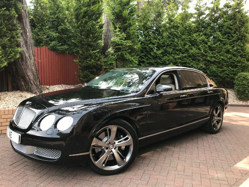 BENTLEY CONTINENTAL W12 Auto Entry