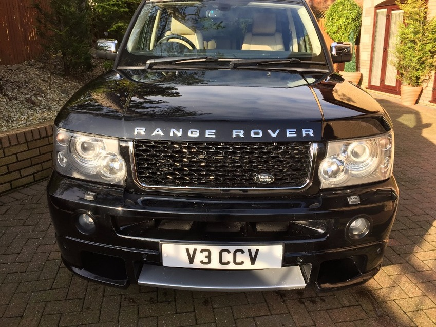 View LAND ROVER RANGE ROVER SPORT TDV6 HSE