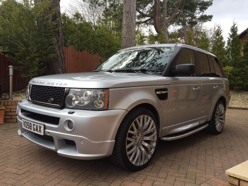 View LAND ROVER RANGE ROVER SPORT TDV6 SPORT HSE